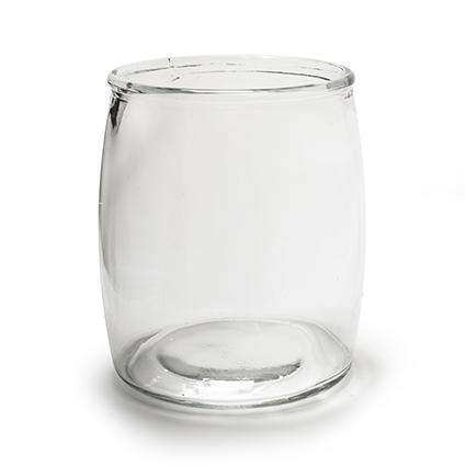 Glaspot 'bull' h21 d18 cm