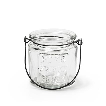 Glas+hanger 'hsh' h8 d8 cm
