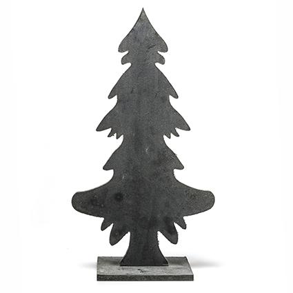 Deco tree greyw. h42 cm