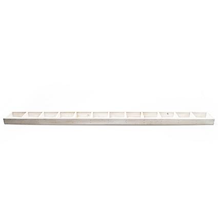 Wood tr.straight white12-100cm