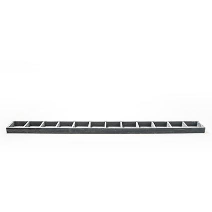 Wood tr.straight grey 12-100cm
