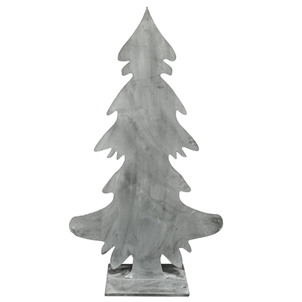 Deco wood 'tree' grey h130