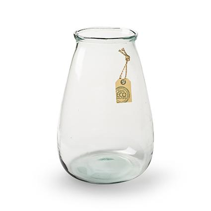 Eco vase 'buddy' h22 d23cm