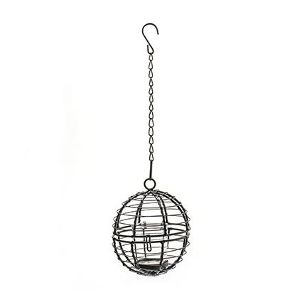Metal ball+glas dia 13cm