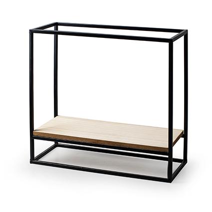 Wall hanger 'shelf' h28 d30x12 cm