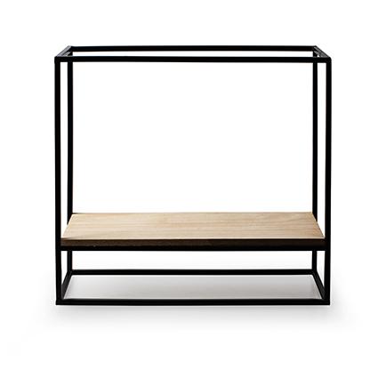 Wall hanger 'shelf' h32 d35x12 cm