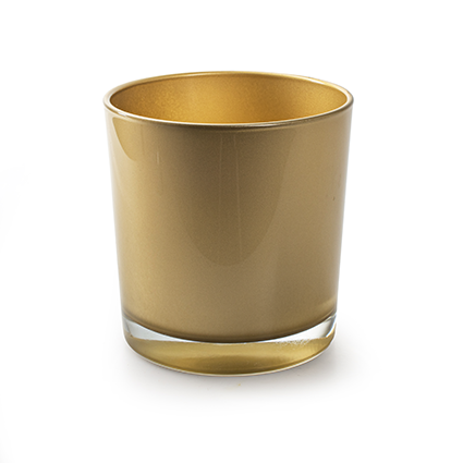 Kon. vaas 'monaco' goud h12 d11,5 cm