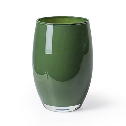 Vaas 'galileo' groen h20 d14 cm