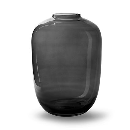 Vase 'noah' grey h35 d25 cm cc