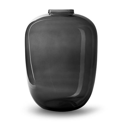 Vase 'noah' grey h45 d32,5 cm cc