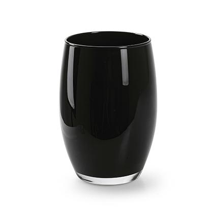 Vaas 'galileo' zwart h20 d14 cm