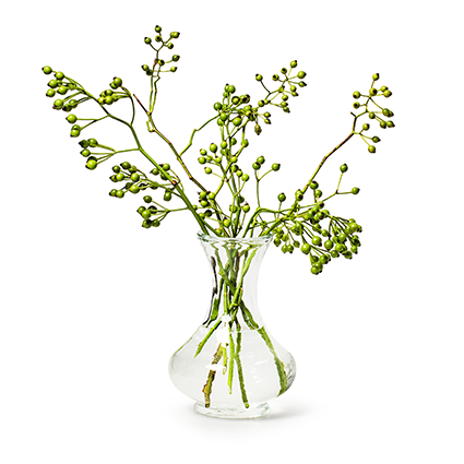 Vase 'raisa' h14 d10 cm