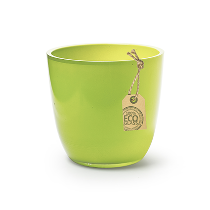 Eco pot 'extraheavy' green h12