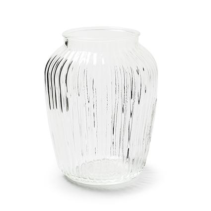 Vase 'larissa' h19,5 d15cm