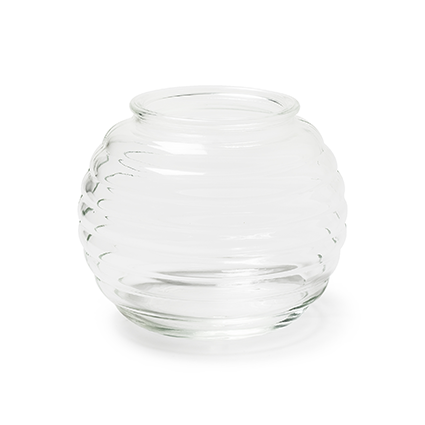 Roundvase 'katya' optic h13,5