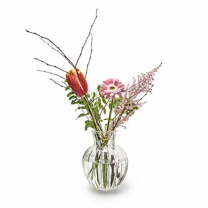 Vase 'pjotr' opt. h19,5 d15,5