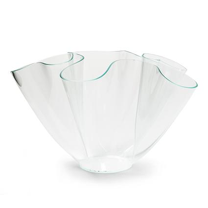 Vase 'wave' h22 d36cm