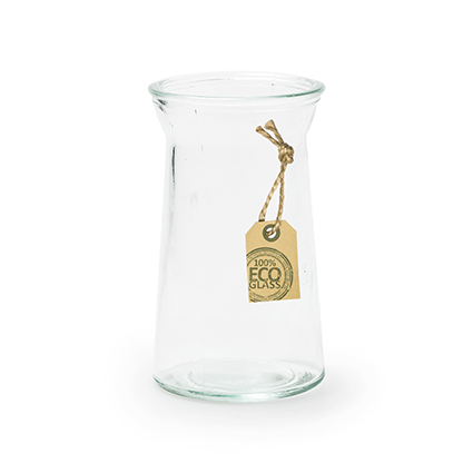 Eco vase 'hyacint' h12 d7 cm