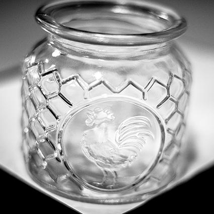 Glas 'rooster' S h10.5 d11 cm