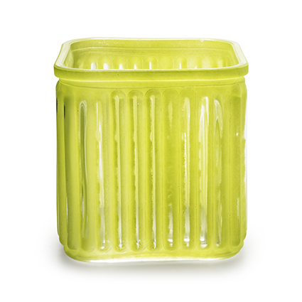 Cube 'bonny' green 12x12 cm