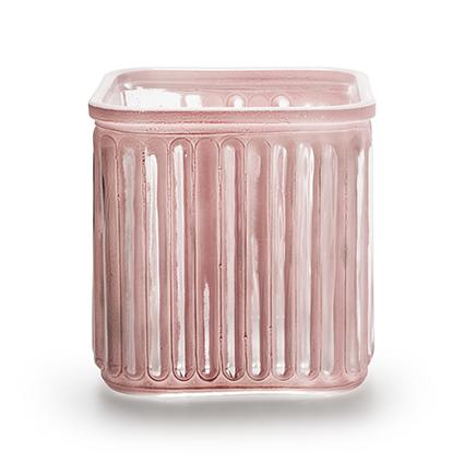 Accubak 'bonny' roze 12x12 cm