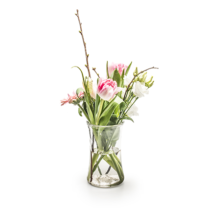 Vaas 'flower power' h15.5 d10 cm