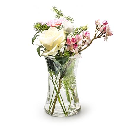 Vaas 'flower power' h20.5 d12.5 cm