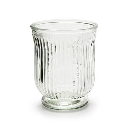 vase ' stripe' h13,5 d11 cm
