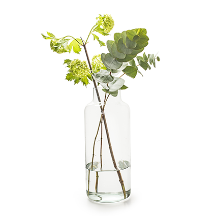 Eco vase 'gigi' h35 d14,5cm