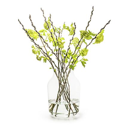 Eco vase 'silva' h37 d26 cm