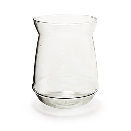 Glaspot 'sfinx' h20 d17/15 cm