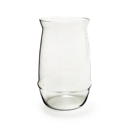 Glaspot 'sfinx' h30 d19/17 cm