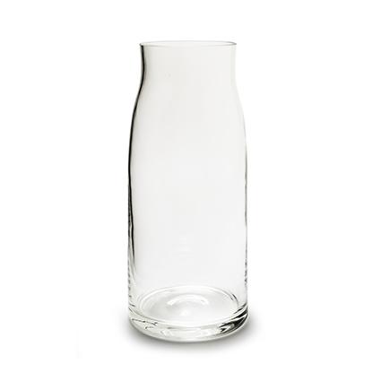 Vase 'tobias' h42 d19/14 cm c