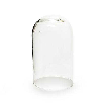 Stolp glas h18.5 d11 cm