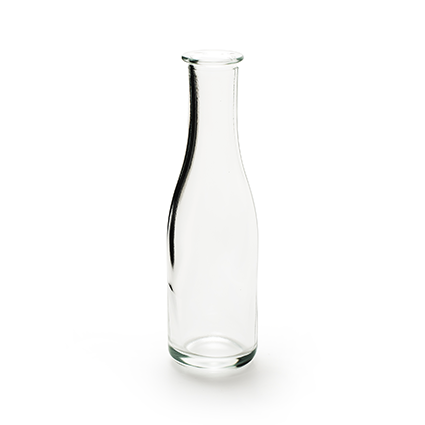 Bottle vase h19,5 d5,5 cm