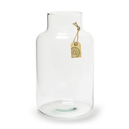 Eco vase+cork 'gigi' h25 d14,5 cm