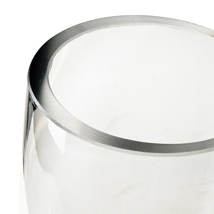 Cylinder 'rose' h20 d5 cm cc