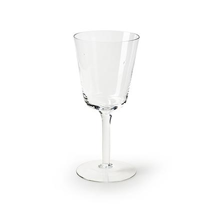 Glas op voet 'mickey' h20 d9 cm cc