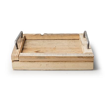 Tray 'sense' h3,5 d23,5x23,5 cm