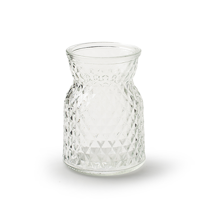 Bottle vase 'posh' h10,5 d7,5 cm