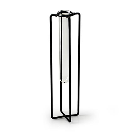 Metal tube frame h18 d5x5 cm