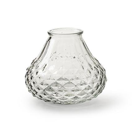 Vase 'salsa' M h11,5 d13,5 cm