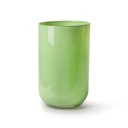 Cylinder 'davinci' green h21 d13 cm