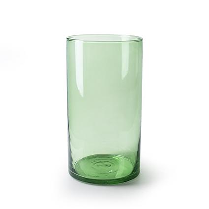 Cilinder 'arthur' groen T h30 d16cm