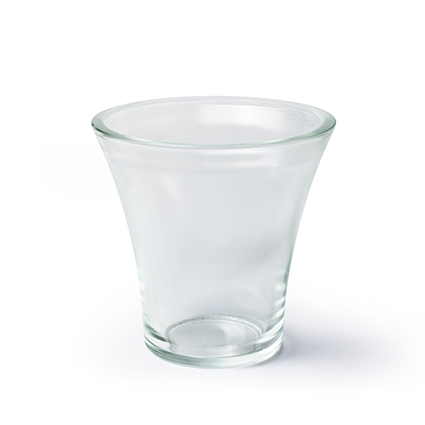 Vase 'rosy' h17 d17 cm