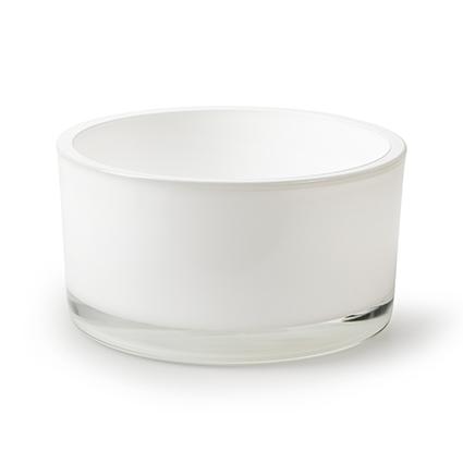 Schaal 'syl' wit h8 d15 cm