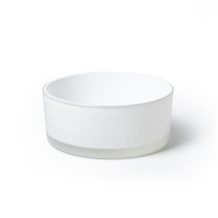Bowl 'syl' white h8 d19 cm