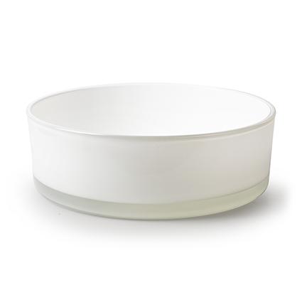 Bowl 'syl' white h8 d25 cm