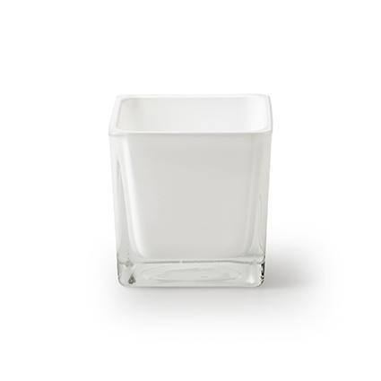 Accubak 'piazza' wit 6x6x6 cm