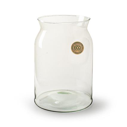 Eco vase 'noppi' h25 d17 cm